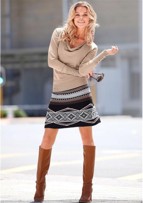 Трикотажная юбка купить в Quelle, Трикотажная юбка от