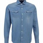 Рубашка джинсовая F5 купить в Lamoda RU, Рубашка джинсовая F5 от f5
